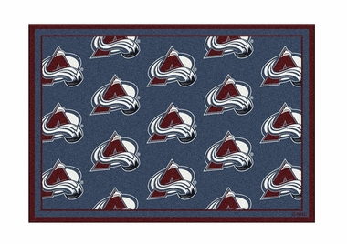 "Colorado Avalanche 3'10"" x 5'4"" Premium Pattern Rug"