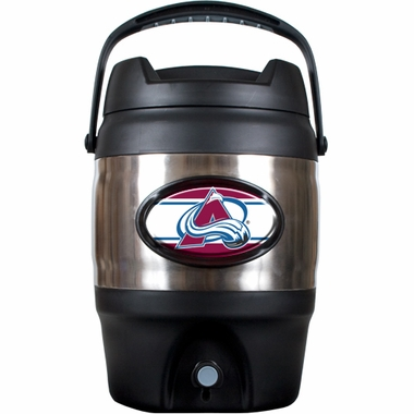 Colorado Avalanche 3 Gallon Stainless Steel Jug