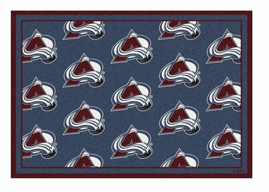 "Colorado Avalanche 5'4"" x 7'8"" Premium Pattern Rug"