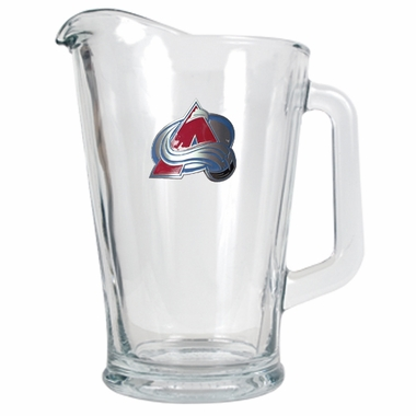 Colorado Avalanche 60 oz Glass Pitcher