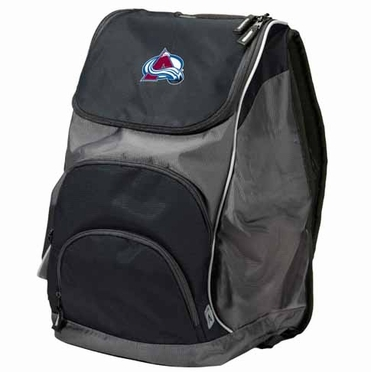 Colorado Avalanche Action Backpack (Color: Black)