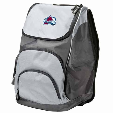 Colorado Avalanche Action Backpack (Color: Grey)