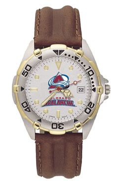 Colorado Avalanche All Star Mens (Leather Band) Watch
