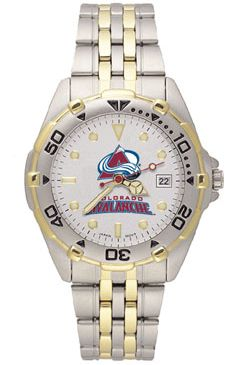Colorado Avalanche All Star Mens (Steel Band) Watch