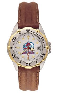 Colorado Avalanche All Star Womens (Leather Band) Watch
