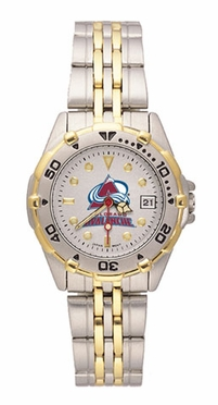 Colorado Avalanche All Star Womens (Steel Band) Watch