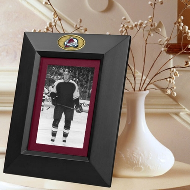 Colorado Avalanche BLACK Portrait Picture Frame