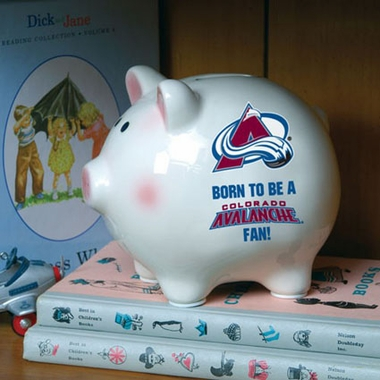 Colorado Avalanche (Born to Be) Piggy Bank