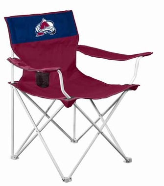 Colorado Avalanche Canvas Adult Folding Logo Chair