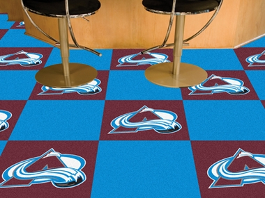 Colorado Avalanche Carpet Tiles