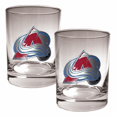 Colorado Avalanche Double Rocks Set