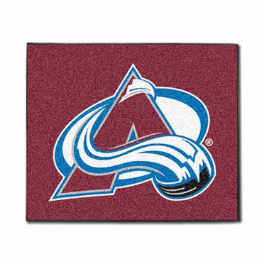 Colorado Avalanche Economy 5 Foot x 6 Foot Mat