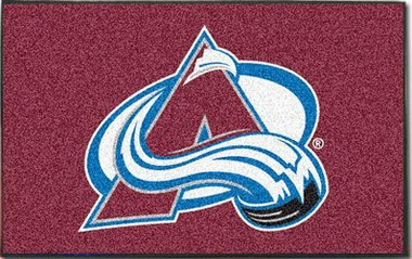 Colorado Avalanche Economy 5 Foot x 8 Foot Mat