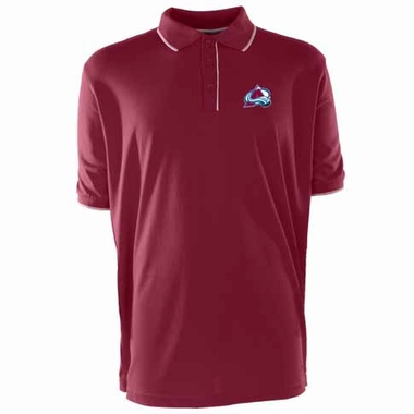 Colorado Avalanche Mens Elite Polo Shirt (Team Color: Maroon)