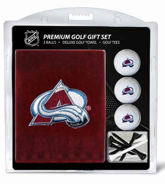 Colorado Avalanche Embroidered Towel Gift Set