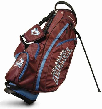Colorado Avalanche Fairway Stand Bag