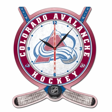 Colorado Avalanche High Definition Wall Clock