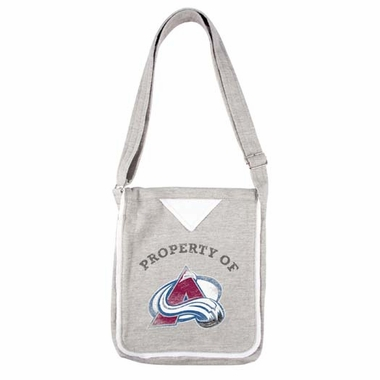 Colorado Avalanche Hoodie Crossbody Bag