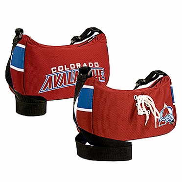 Colorado Avalanche Jersey Material Purse