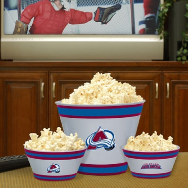Colorado Avalanche Plastic Serving Set