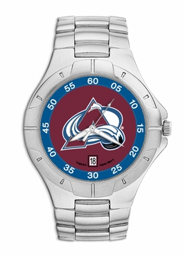 Colorado Avalanche Pro II Men's Stainless Steel Watch