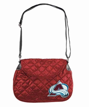 Colorado Avalanche Quilted Saddlebag