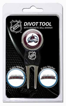 Colorado Avalanche Repair Tool and Ball Marker Gift Set