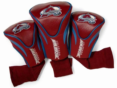 Colorado Avalanche Set of Three Contour Headcovers