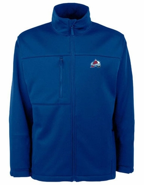 Colorado Avalanche Mens Traverse Jacket (Team Color: Black)