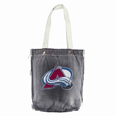 Colorado Avalanche Vintage Shopper (Black)