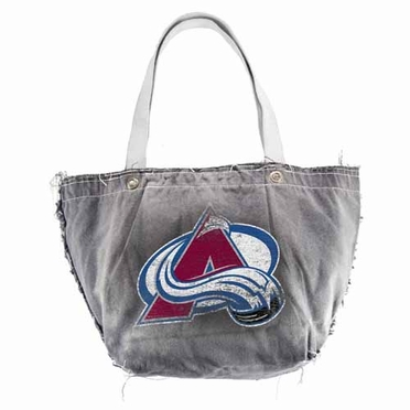 Colorado Avalanche Vintage Tote (Black)