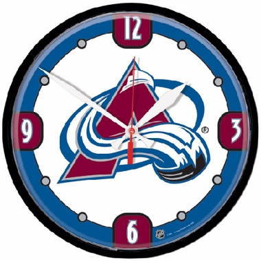 Colorado Avalanche Wall Clock