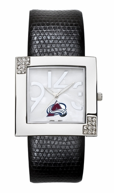 Colorado Avalanche Women's Glamour Watch