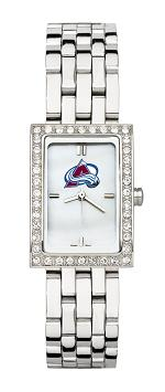 Colorado Avalanche Women's Steel Band Allure Watch