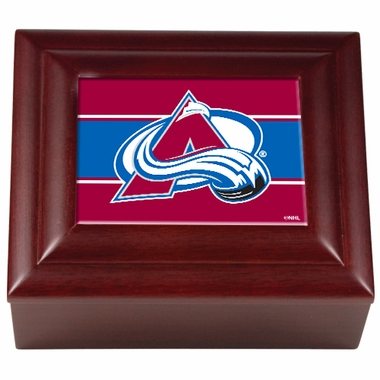 Colorado Avalanche Wooden Keepsake Box