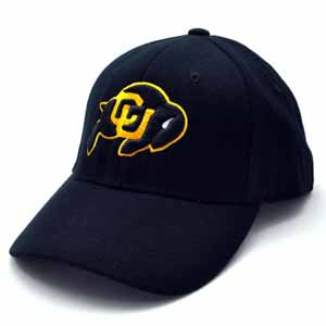 Colorado Black Premium FlexFit Baseball Hat - Small / Medium