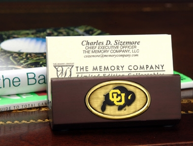 Colorado Business Card Holder