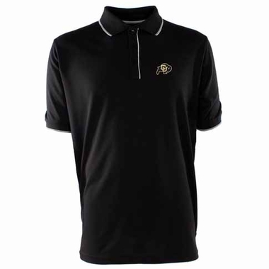 Colorado Mens Elite Polo Shirt (Color: Black)