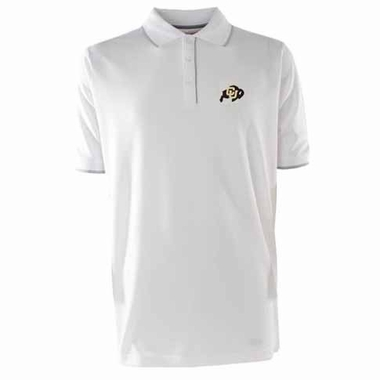 Colorado Mens Elite Polo Shirt (Color: White)