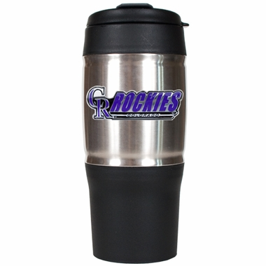 Colorado Rockies 18oz Oversized Travel Tumbler
