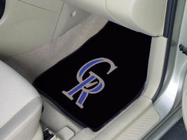 Colorado Rockies 2 Piece Car Mats