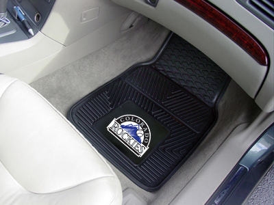 Colorado Rockies 2 Piece Heavy Duty Vinyl Car Mats