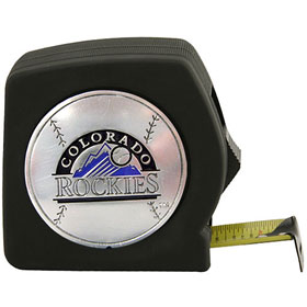 Colorado Rockies 25 Foot Tape Measure