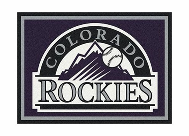 "Colorado Rockies 3'10"" x 5'4"" Premium Spirit Rug"