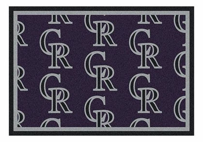 "Colorado Rockies 5'4"" x 7'8"" Premium Pattern Rug"