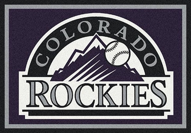 "Colorado Rockies 7'8"" x 10'9"" Premium Spirit Rug"