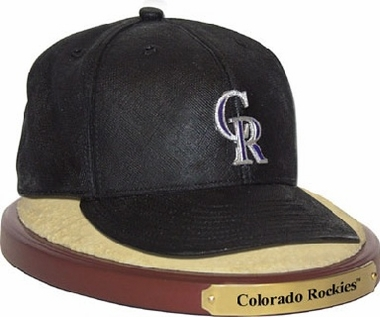 Colorado Rockies Ball Cap Figurine
