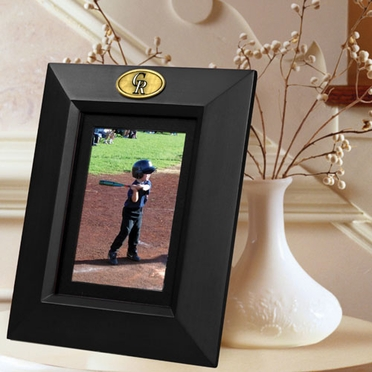 Colorado Rockies BLACK Portrait Picture Frame