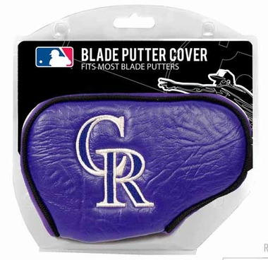 Colorado Rockies Blade Putter Cover