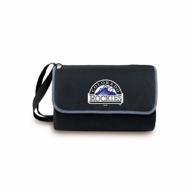 Colorado Rockies Blanket Tote (Black)